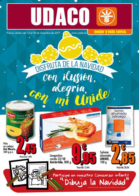 Ofertas de Supermercados Udaco, Disfruta de la Navidad