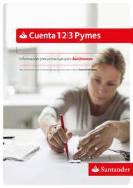 Información precontractual de la Cuenta Pymes