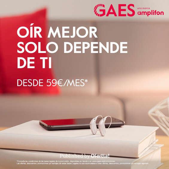Ofertas de GAES, Oír mejor solo depende de ti