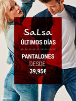 Ofertas de Salsa Jeans, Pantalones desde 39,95€