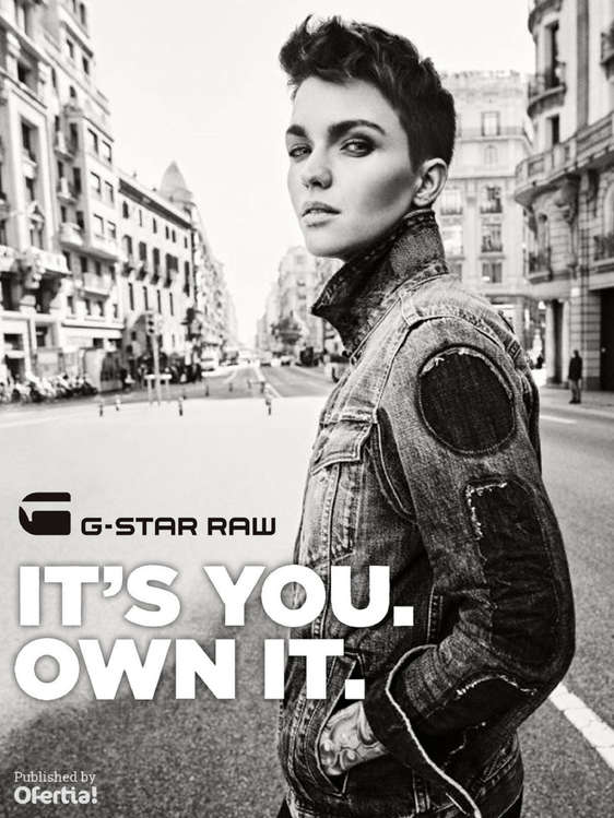 Ofertas de G-Star, It's you. Own it