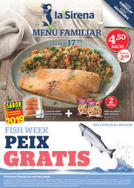 Fish week. Peix gratis