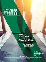 Ofertas de El Corte Inglés, Love Fitness