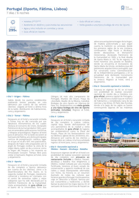 Ofertas de Eroski Viajes, Circuitos culturales Eroski 3