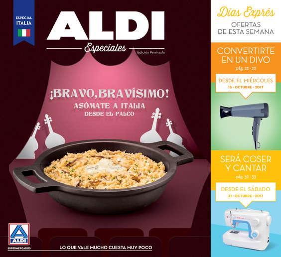 Ofertas de ALDI, ¡Bravo, bravísimo! - Asómate a Italia desde el palco