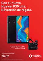 Ofertas de Vodafone, Con el nuevo Huawei P30 Lite, llévatelos de regalo.