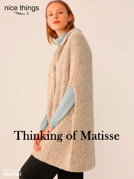 Ofertas de Nice Things, Thinking of Matisse