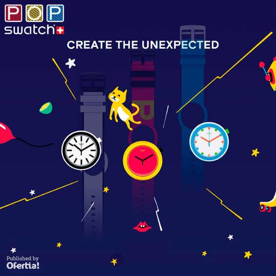 Ofertas de Swatch, Create the unexpected