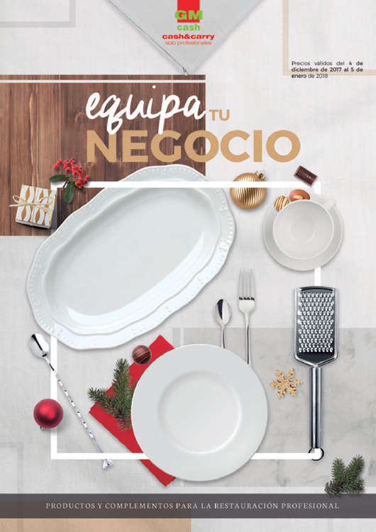 Ofertas de GM Cash & Carry, Equipa tu negocio