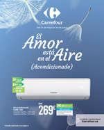 Ofertas de Carrefour, El Amor está en el aire (acondicionado)