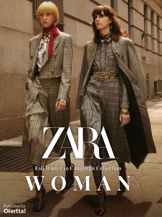 Ofertas de ZARA, Fall Winter 19 Campaign Collection - Woman