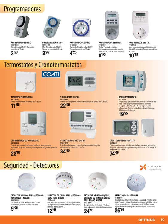 Ofertas de Coinfer, Calefacción