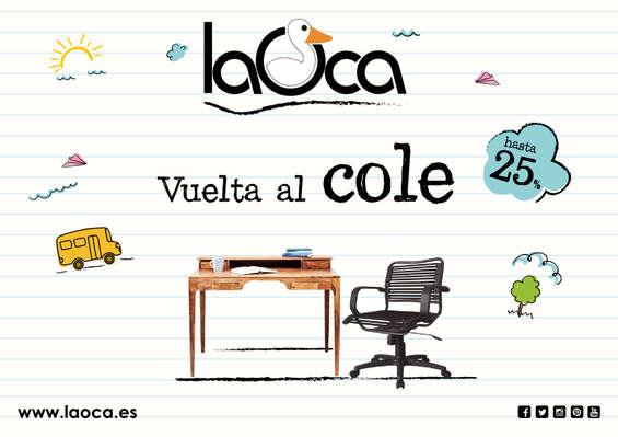 Ofertas de La Oca, Vuelta al cole