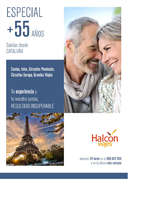 Ofertas de Halcón Viajes, Especial +55 años