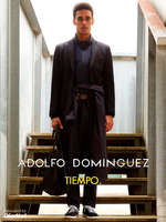 Ofertas de Adolfo Domínguez, Tiempo.