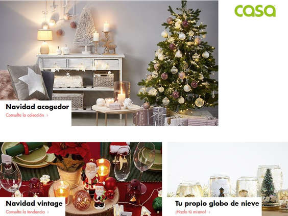 Ofertas de CASA, Novedades de Navidad