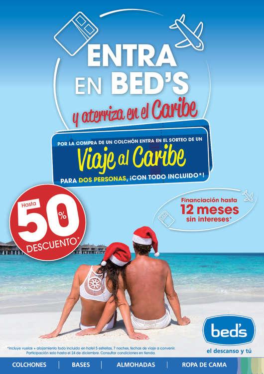 Ofertas de Beds, Entra en Bed's y aterriza en el Caribe