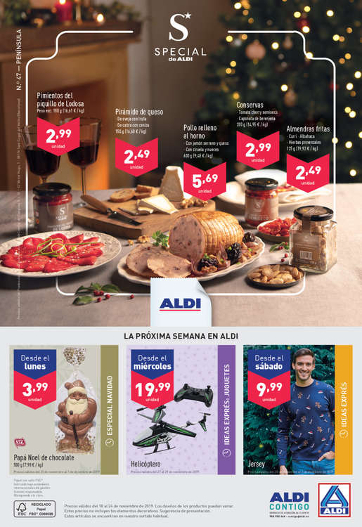 Ofertas de ALDI, Lo que vale mucho cuesta muy poco