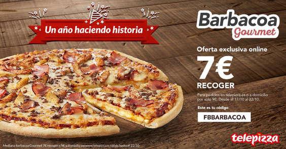 Ofertas de Telepizza, Un año haciendo historia
