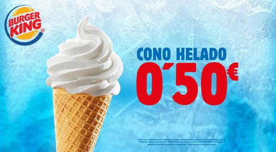 Ofertas de Burger King, Cono helado