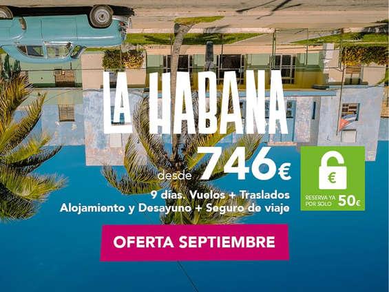 Ofertas de Nautalia, La Habana