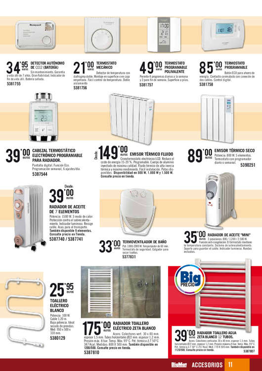 Comprar termostato barato en cija ofertia - Emisor termico carrefour ...