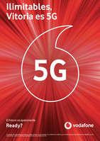 Ofertas de Vodafone, Ilimitables, Vitoria es 5G