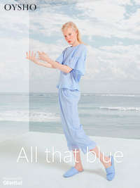 All that blue