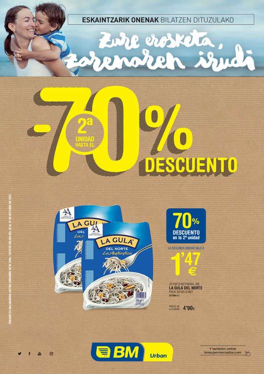 Ofertas de BM Supermercados, - 70% descuento