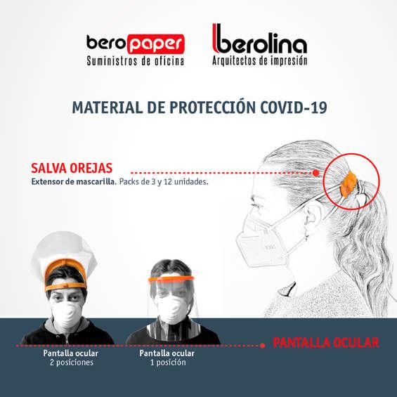 Ofertas de Berolina, Material de protección Covid-19