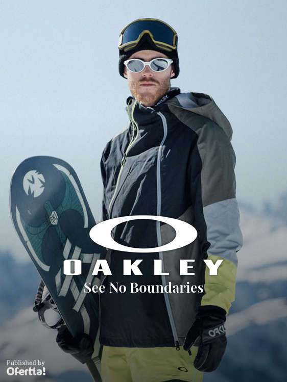 Ofertas de Oakley, See No Boundaries