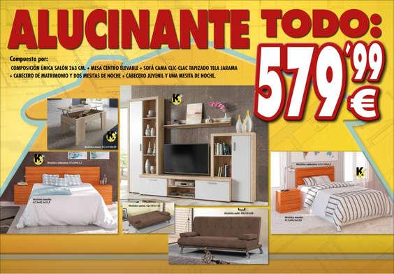 Tu mueble zamora ofertas cat logo y folletos ofertia for Tu mueble catalogo